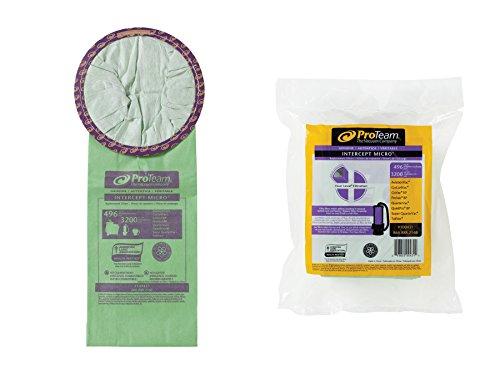 ProTeam Intercept Micro Filter Bag, Open Collar: 6 - Micro Filter Dust