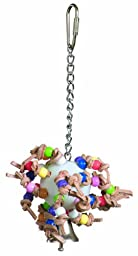 Super Bird Creations 7 by 4-Inch Sputnik Jr Bird Toy, Small
