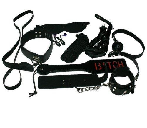 UPC 602304446616, Vovii® Under Bed Restraint Kit Cuff Mask Whip Paddle Collar Rope Sm Flirt Sex Toy