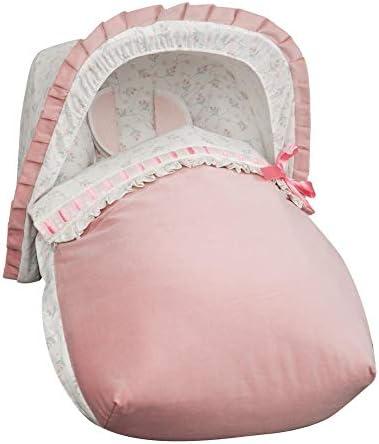 Saco porta beb/é color rosa Babyline Autumn unisex