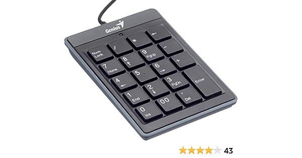 Genius i110 - Teclado numérico con USB