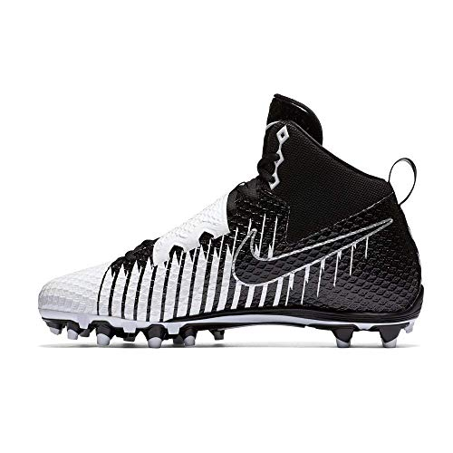 Nike Lunarbeast Pro D Football Cleats White/Black-Black Size 11