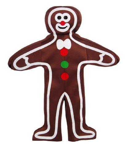 Cookie Man Costume (Forum Novelties Men's Gingerbread Man Adult Costume, Multi, One Size)