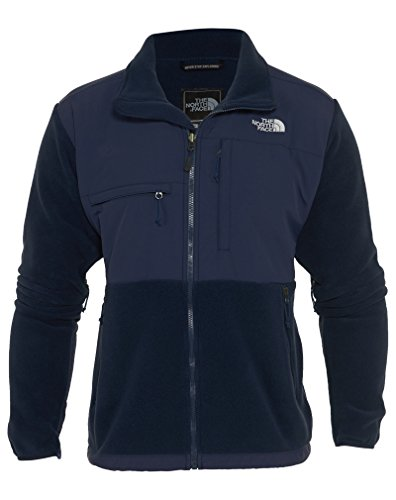 North Face Denali Jacket - Men's Recycled Cosmic Blue/Cos...