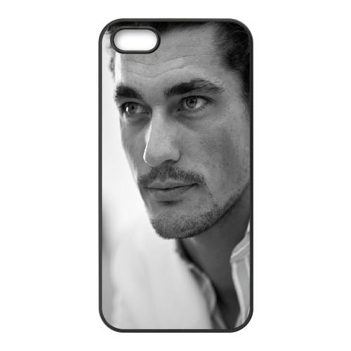 David Gandy Eyes Hair Mustache Model Black And White 61394 coque iPhone 4 4S cellulaire cas coque de téléphone cas téléphone cellulaire noir couvercle EEEXLKNBC24465