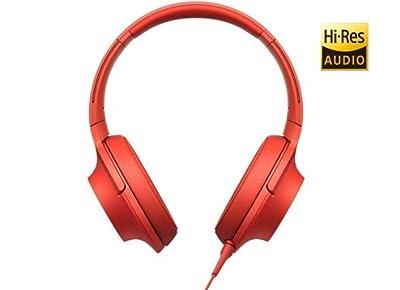 Sony h.ear MDR-100AAP Headphones - Cinnabar Red