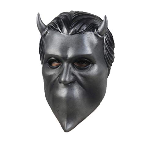 NECHARI Nameless Ghouls Mask Ghost Heavy Metal Doom Hard Rock Band Helmet Halloween Cosplay Prop Be The First to Review This -