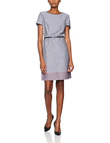Grey Mehrfarbig Kleid Damen Collection Blue 420 ESPRIT wqpO0xR