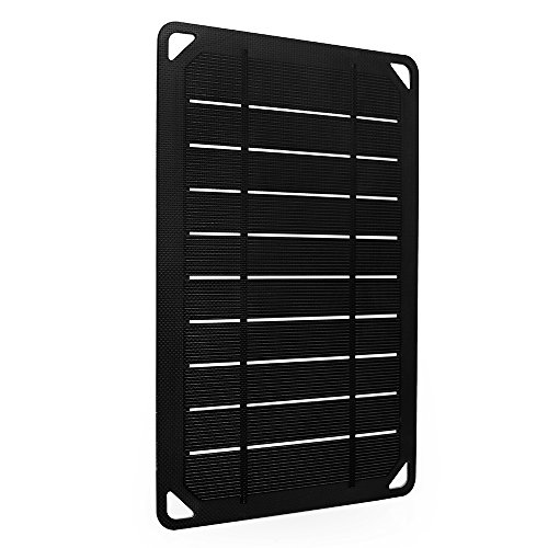 Renogy Portable E.Flex Monocrystalline 5W Solar Panel with USB Port for Charging, Hiking and Biking