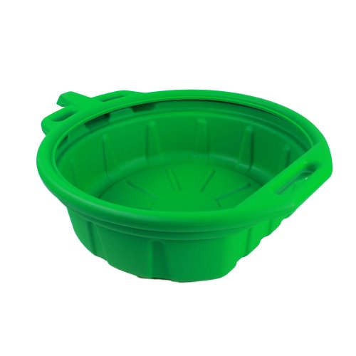 Price comparison product image Capri Tools CP21023 Portable Oil Drain Pan, Anti-Freeze, Green