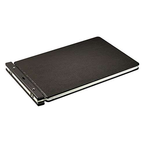 Wilson Jones Raven Vinyl-Guarded Post Binders, 2 Inch Capacity, 11 x 17 Inch Sheets for Accounting, Financial (W241-66NA)