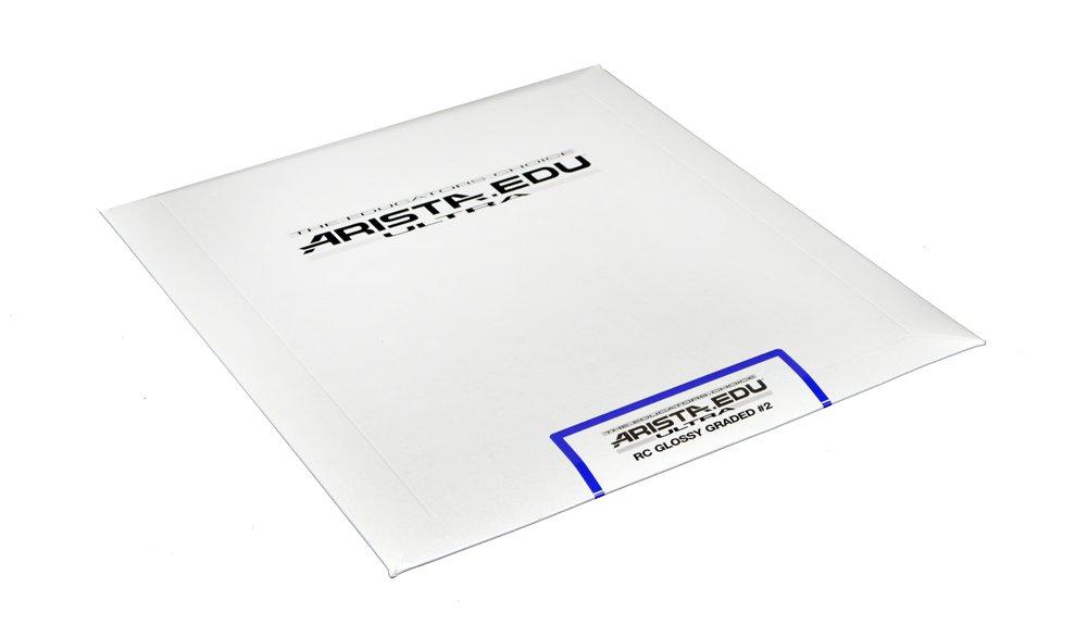Arista EDU Ultra RC Black & White Photographic Paper, Glossy #2 8x10, 25 Sheets