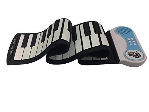 MukikiM Rock And Roll It – Piano. Flexible, Completely Portable, 49 standard Keys, battery OR USB powered. 2016 ASTRA Best Toy for Kids Award Winner!