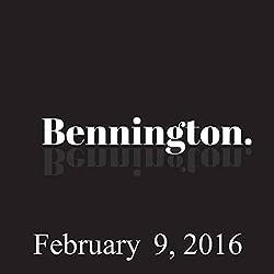 Bennington, February 9, 2016