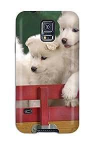 ZippyDoritEduard JtLMVUG8945cjRyQ Protective Case For Galaxy S5(wagonload Of Samoyed Puppies)