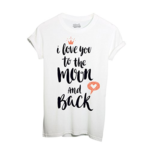 T-Shirt I Love You To The Moon And Back - Valentine'S Day - MUSH by Mush Dress Your Style
