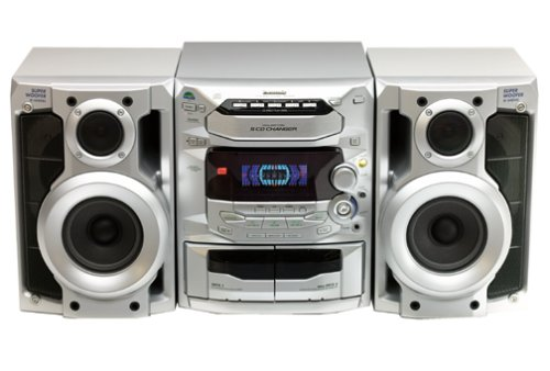 Amazon Panasonic SC AK24 Compact Stereo System Discontinued By Manufacturer Home Audio Theater