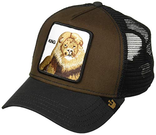 Goorin Bros. Men's Animal Farm Trucker Hat, Brown Lion, One Size