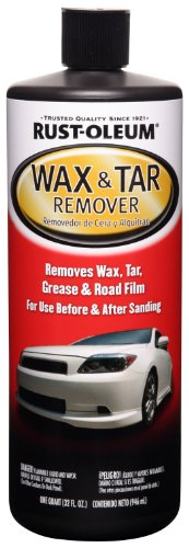 - Rust-Oleum Automotive 251475 32-Ounce Wax and Tar Remover Quart
