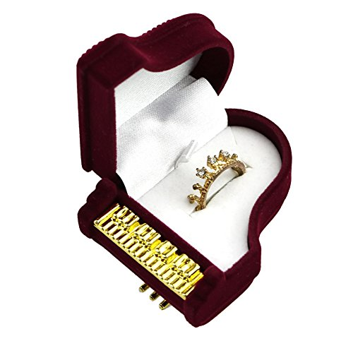Treasure Box Piano - Wrisky New Piano Ring Box Earring Pendant Jewelry Treasure Gift Case Wedding