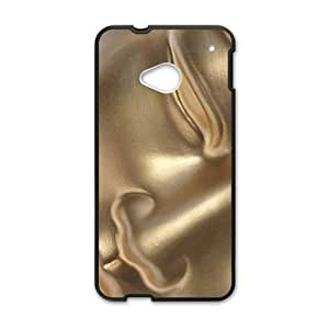 Golden copper Buddha Cell Phone Case for HTC One M7