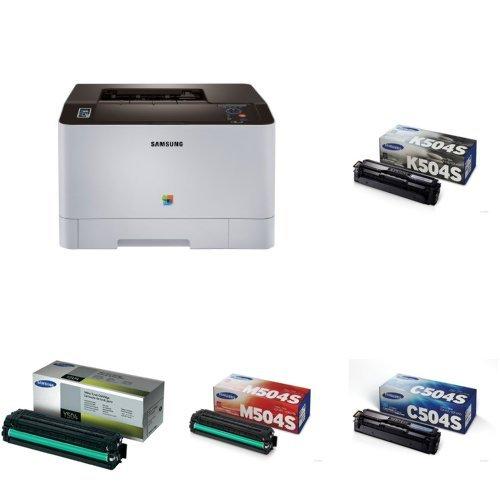 HP SS204E#BGJ Samsung SL-C1810W/XAA Wireless Color Printer, Amazon