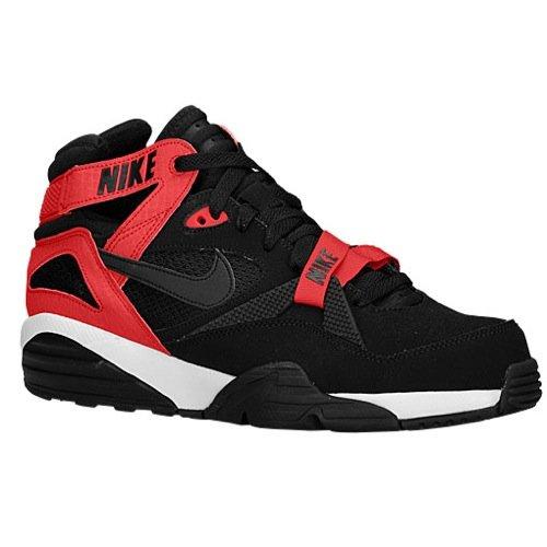 Nike Mens Air Trainer Max 91 Black/Black/Unvrsty Red/White Training Shoe 12 Men US