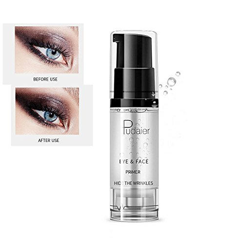 Eyeshadow Primer, Leegoal Anti-Wrinkle Natural Eye Base, Long Lasting Smooth Eye Cream Pre Makeup Foundation ( Clear ) Pre Makeup Base