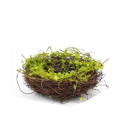 - Byher Decorative Bird Nests, Rattan Weaving Bowls for Crafts, Home Decoration (5 Inch)