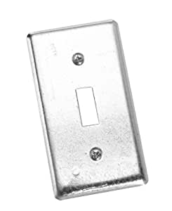 Raco INC 865 Single Steel Toggle Switch Handy Box Cover (Pack of 25)