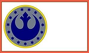 Star Wars Bandera | nueva República | 3x 5ft/90x 150cm | grande bandera de larga duración