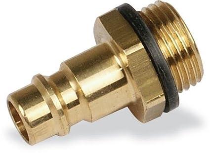 Stecknippel 1/4' AG - Druckluft Zubehö r fü r die Druckluftanlage holz-metall