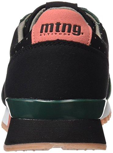 Negro Verde Gansa Mtng raspe Zapatillas Mujer Verde lycra Para d8Uw1UIxq