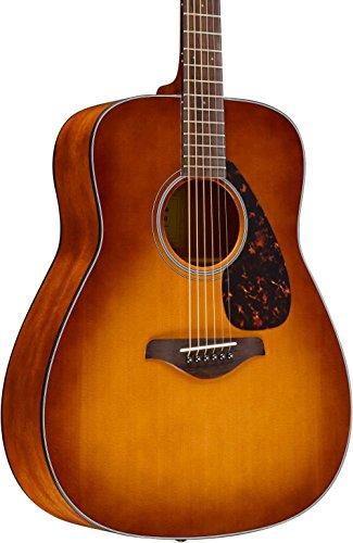 Yamaha FG800 Folk Acoustic Guitar Sand Burst