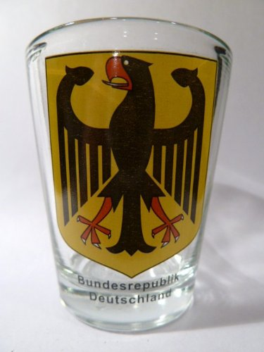 Germany Coat Of Arms Shot Glass