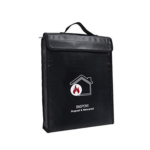 Non Waterproof Box (ENGPOW Fireproof Document Bag 15