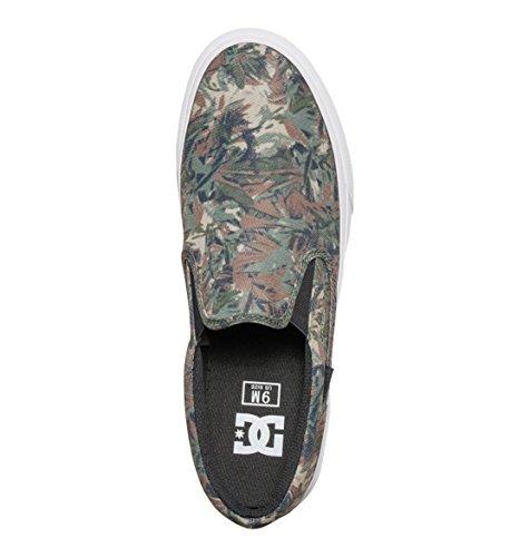 DC Herren Schuhe Trase Schlupfhalsband SP - Camouflage