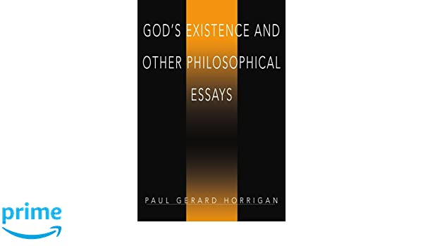existence of god philosophy essay