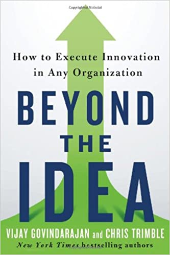 What does execution of an idea mean?