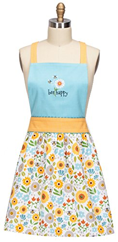 Kay Dee Designs R6561 Garden Bee Embroidered Hostess Apron