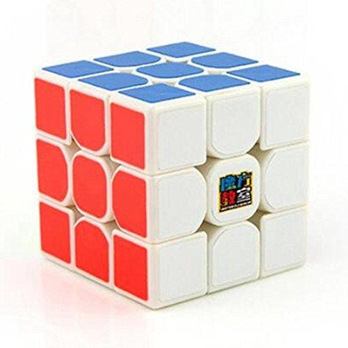 MoYu Cubing Classroom MoFangJiaoShi MF3RS 3x3 Speed Cube Magic Cube Puzzle Brain Teasers, White