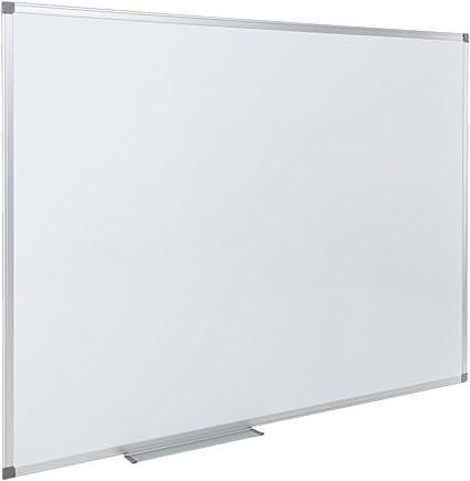 Basic. Pizarra blanca mural y magnética de 90 x 120 cm: Amazon.es ...