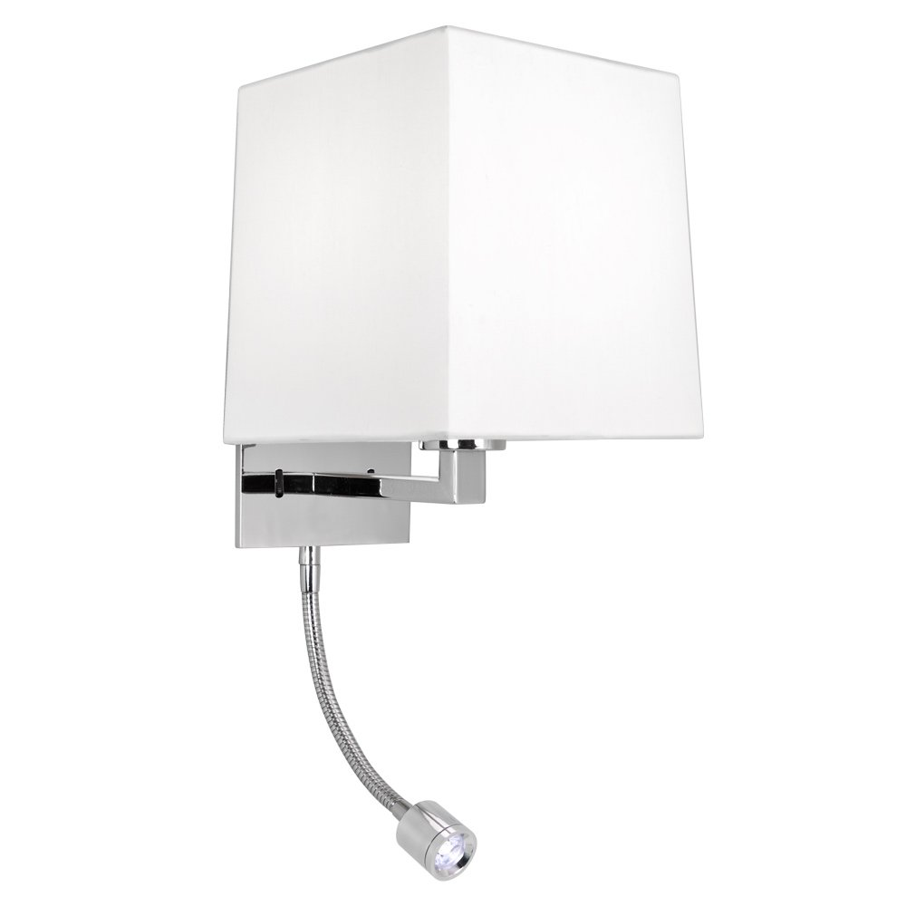 without shade ASTRO Azumi 0928 1 Light IP20 Wall Light in Matte Nickel