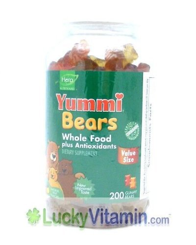 HERO NUTRITIONAL PRODUCTS YUMMY BEAR,WHL FOOD SUPPL, 200 CT by Hero Nutritionals