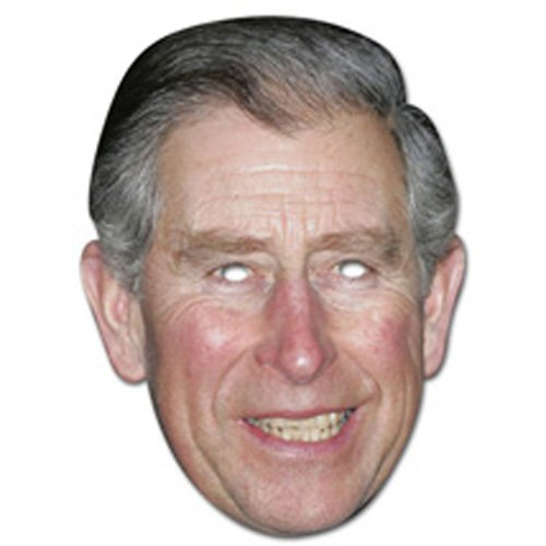Partyrama Prince Charles Celebrity Cardboard Mask Single