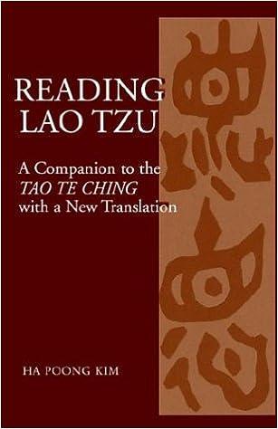 Reading Lao Tzu