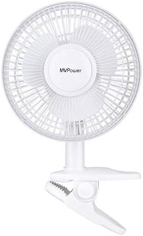 MVPower Ventilador de Mesa Mini Silencioso Portátil para ...