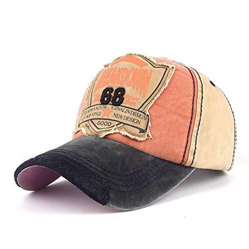 Embroidered Letters Baseball Cap Hip Hop Style Flat Hat Adjustable Fits Women Men