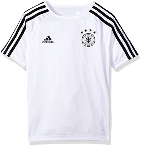 522a57827315 adidas World Cup Soccer Argentina Youth Soccer Germany Home Fanshirt,  Small, White Black