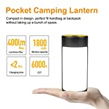 CT CAPETRONIX LED Camping Lantern, Rechargeable